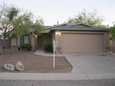 Pima County Single Family Home For Sale: 9950 E Watson Drive