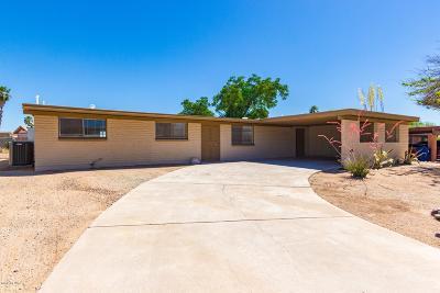 Tucson AZ Single Family Home For Sale: $208,500