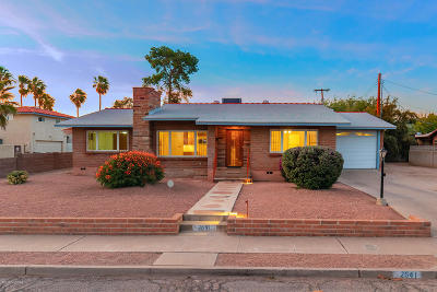 Pima County Single Family Home For Sale: 2641 E 10th Street