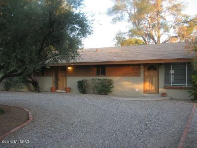 Pima County Single Family Home For Sale: 4350 E 14th Street