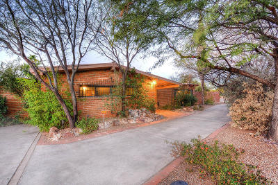 Pima County Single Family Home Active Contingent: 2534 E Arroyo Chico