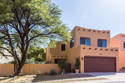 Tucson Single Family Home Active Contingent: 11861 N Desert Slopes Way