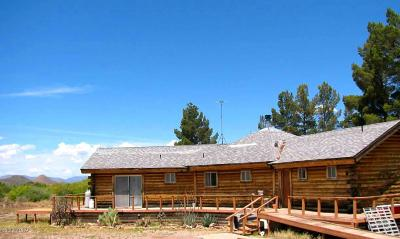 Cochise County Single Family Home For Sale: 11755 N Rodeo Road