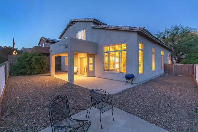 Pima County, Pinal County Single Family Home Active Contingent: 4029 N Sunset Cliff Place