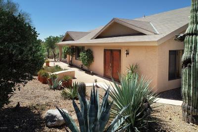 Tucson Single Family Home Active Contingent: 5531 W Placita Acantilada