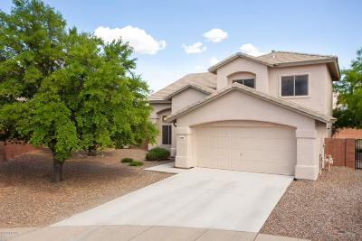 Tucson Single Family Home Active Contingent: 11028 N Eagle Crest Drive