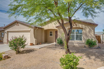 Pima County Single Family Home Active Contingent: 6954 S Wingbow Drive