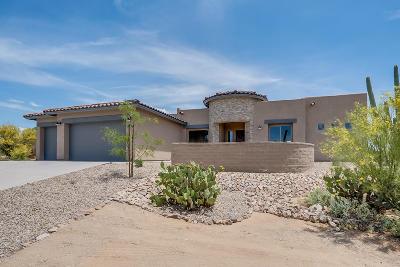 Tucson Single Family Home Active Contingent: 5078 W Camino De Manana