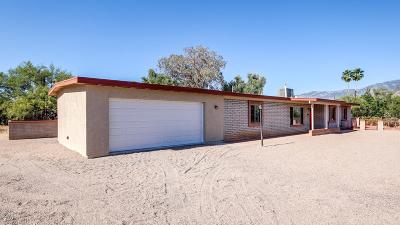 Tucson Single Family Home Active Contingent: 551 E Tangelo Drive