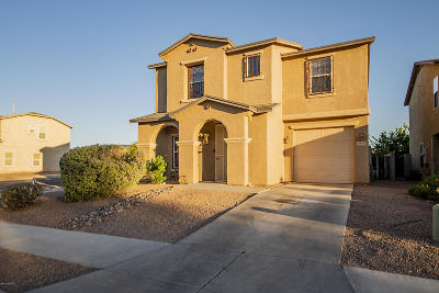 Pima County Single Family Home Active Contingent: 5912 E Sanderling Drive