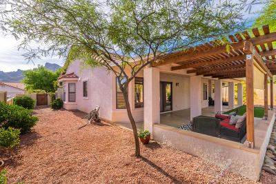 Tucson Single Family Home Active Contingent: 9961 N Hillview Drive