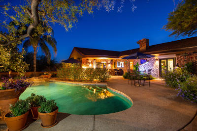 Tucson Single Family Home For Sale: 6113 N Sabino Shadow Lane