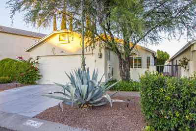Tucson Single Family Home For Sale: 8100 N Millwheel Place