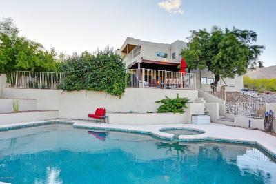 Tucson Single Family Home Active Contingent: 5540 E Paseo Cimarron