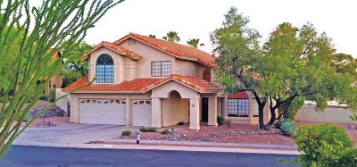 Tucson Single Family Home Active Contingent: 1081 W Graythorn Place