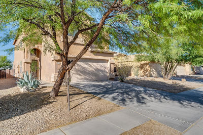 Pima County, Pinal County Single Family Home Active Contingent: 6439 E Garden Stone Drive