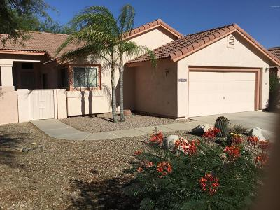 Pima County Single Family Home Active Contingent: 9890 N Stageline Trail