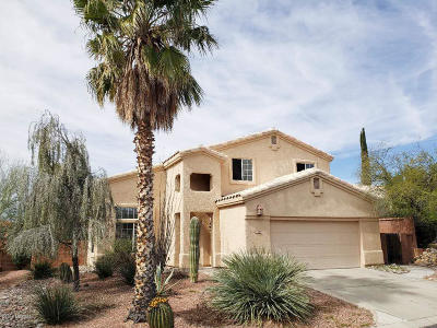 Oro Valley Single Family Home Active Contingent: 10261 N Wild Turkey Lane