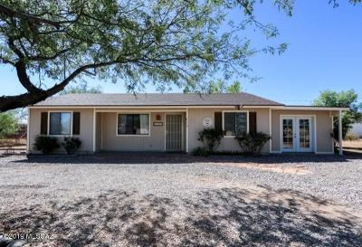 Huachuca City Single Family Home For Sale: 2160 N Coronado Frontage Road