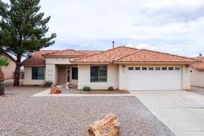 Sierra Vista Single Family Home Active Contingent: 3545 Plaza De Lanza