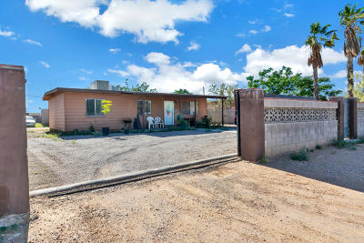 Pima County Single Family Home Active Contingent: 6748 S Van Buren Avenue