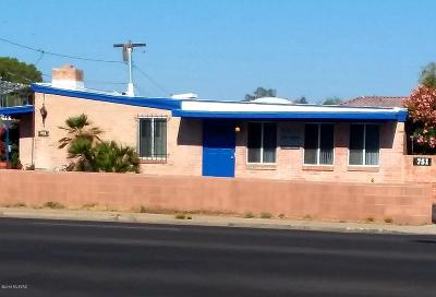 Pima County Single Family Home For Sale: 751 N Country Club Road
