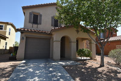 Pima County, Pinal County Single Family Home Active Contingent: 5104 E Desert Straw Lane