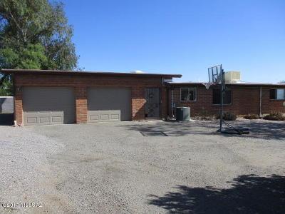 Sahuarita Single Family Home Active Contingent: 17395 S Camino De Las Quintas