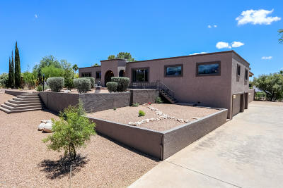 Pima County, Pinal County Single Family Home For Sale: 7556 E Sabino Vista Drive