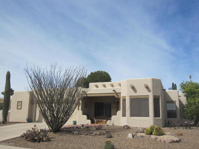 Green Valley Single Family Home Active Contingent: 1301 N Paseo Maravilloso