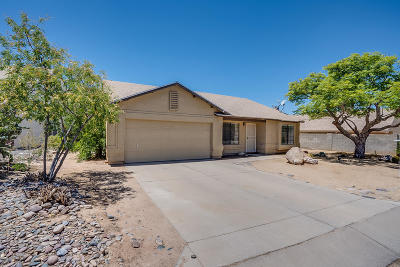 Pima County Single Family Home Active Contingent: 9271 N Thrush Court