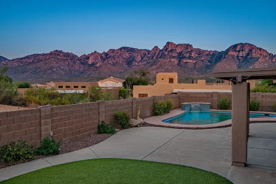 Oro Valley Single Family Home Active Contingent: 11776 N Cassiopeia Drive