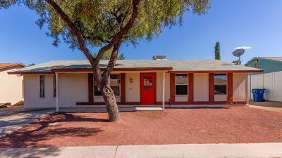 Tucson Single Family Home Active Contingent: 2561 W Vereda Verde