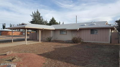 Cochise County Single Family Home Active Contingent: 10 NW Freihage Drive