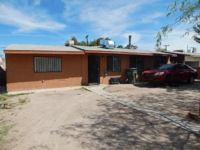 Pima County Single Family Home Active Contingent: 3737 E Ellington Place