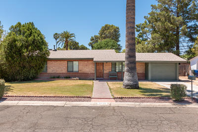 Tucson Single Family Home Active Contingent: 2610 E Prince Road