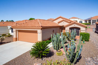 Oro Valley Single Family Home Active Contingent: 14021 N Trade Winds Way