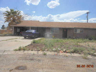 Cochise County Single Family Home Active Contingent: 510 W La Paz Street