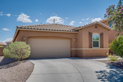 Oro Valley Single Family Home Active Contingent: 1071 W Garden Grove Drive