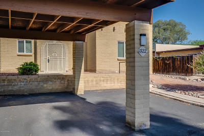 Tucson Townhouse For Sale: 1322 S Brewer Drive