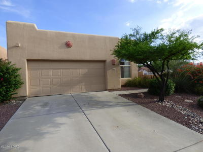 Tucson Single Family Home For Sale: 1299 W Crystalline Way