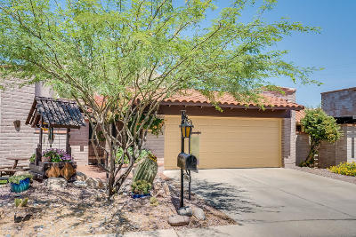 Tucson Townhouse For Sale: 8564 N Calle Tioga
