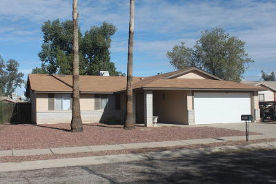 Pima County Single Family Home Active Contingent: 4530 W Lynn Circle