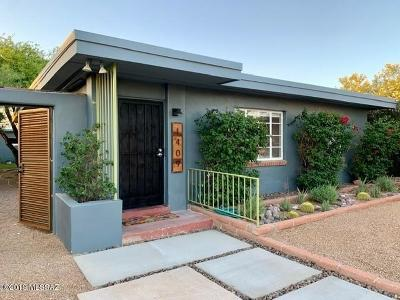 Pima County Single Family Home Active Contingent: 1409 E Silver Street