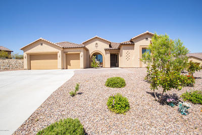 Sahuarita Single Family Home For Sale: 276 S Vaughn Canyon Place