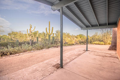 Tucson Single Family Home Active Contingent: 5450 N Maria Drive