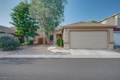 Pima County Single Family Home Active Contingent: 4306 W Bunk House Road