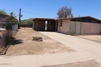 Pima County Single Family Home For Sale: 1812 S Kitt Place