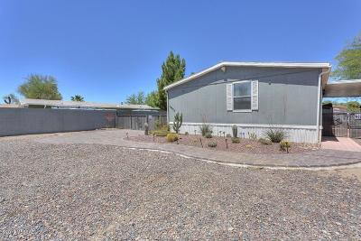 Pima County Manufactured Home For Sale: 13468 N Warfield Circle