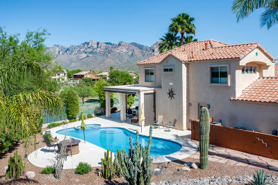 Oro Valley Single Family Home Active Contingent: 1630 W Canada Hills Drive
